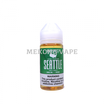 BRWD SEATTLE - Caramel Cappucchino - 100ML - 3MG
