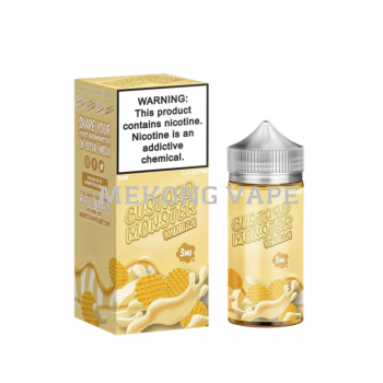 CUSTARD MONSTER - Bánh Sữa Vani - 6Mg 100ML