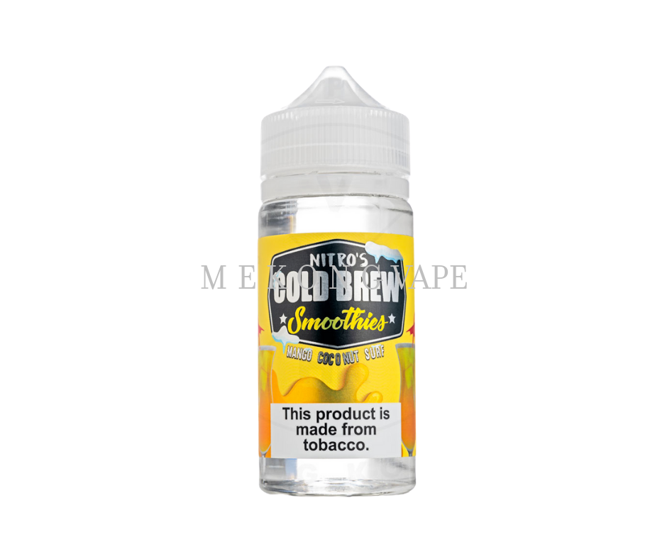 NITRO'S COLD BREW SMOOTHIES MANGO COCONUT SURF - 100ML