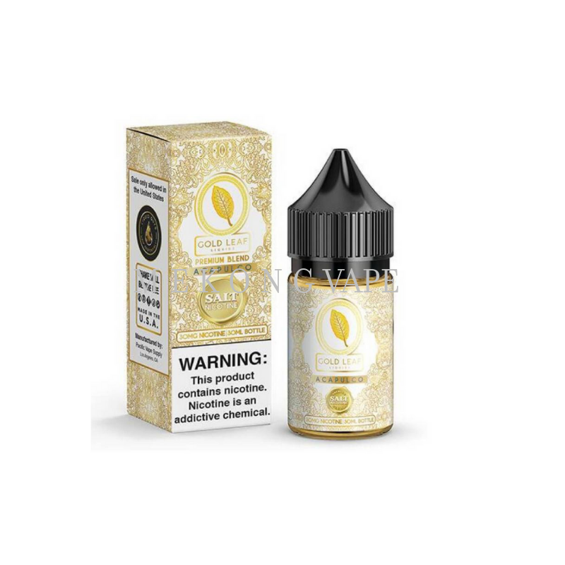 GOLD LEAF ACAPULCO SALT - 30 ML