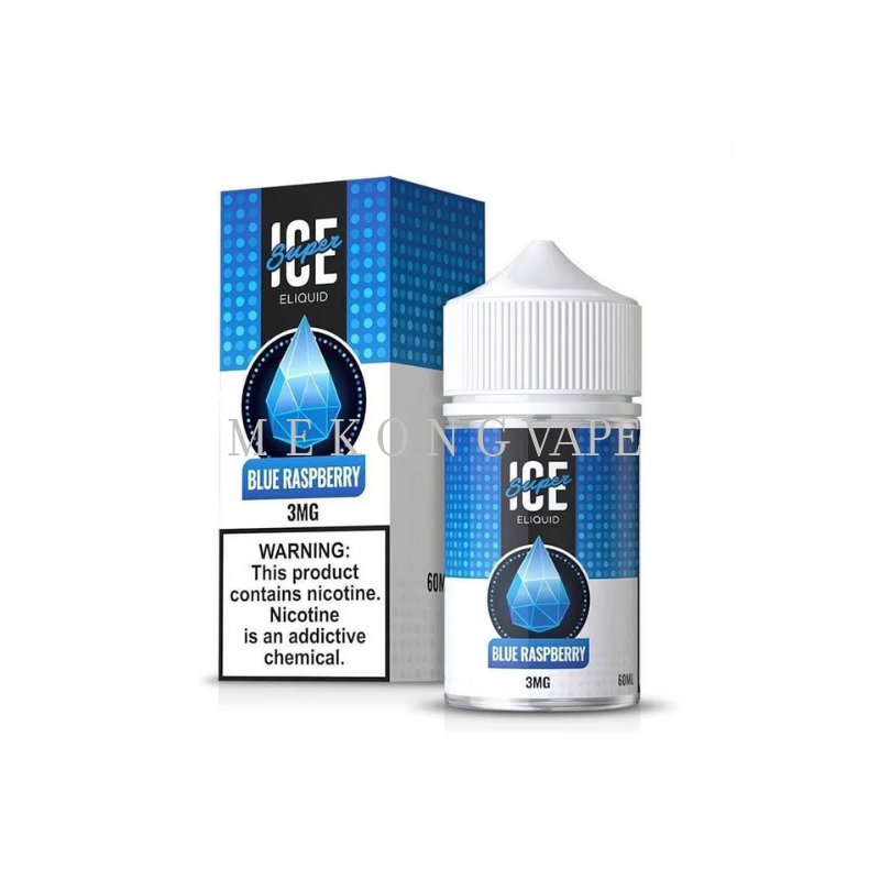 SUPER ICE SUA BLUE RASPBERRY -60ML
